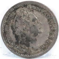 1834 Great Britain 1 1/2 Pence - William IIII.
