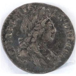 1700 England 2 Pence - William III.