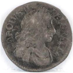 1679 England 2 Pence - Charles II.