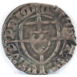 1422-1425 Teutonic Order - Teutonic Knights - Paul I Bellitzer von Russdorff AR Penny.