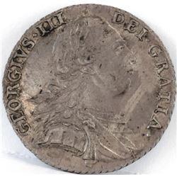 1787 Great Britain Schilling - George III.
