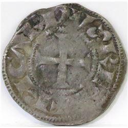 1189-1196 Anglo-Gallic - Denier of Poitou - Richard I.