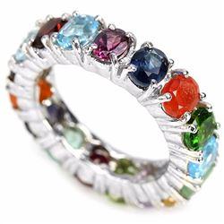 OPAL SAPPHIRE EMERALD RUBY AMETHSYT TOPAZ CITRINE Ring