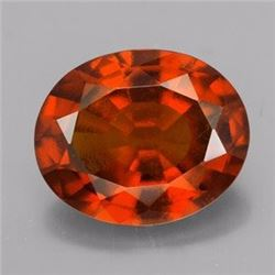 Natural Hessonite Garnet 2.66 ct - no Treatment