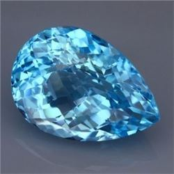 Natural Swiss Blue Topaz 42.70 carats - VVS