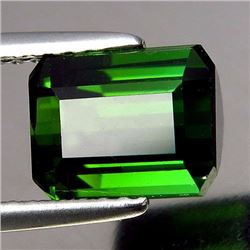 Natural Vivid Green Tourmaline 2.80 ct - VVS