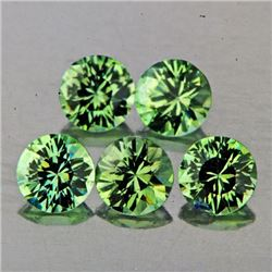 Natural Green Sapphires 4.00 MM