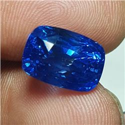 Natural Cornflower Blue Untreated Sapphire 10 Cts GRS
