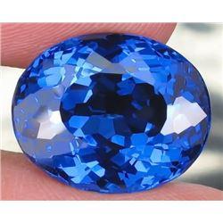 Natural London Blue Topaz 32.88 carats- Flawless