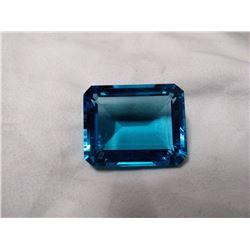 London Blue Topaz 107.25 Carats - VVS