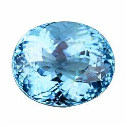 Natural Swiss Blue Topaz 28.51 carats - VVS