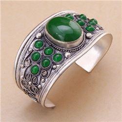 Tibet Green Jade Bracelet
