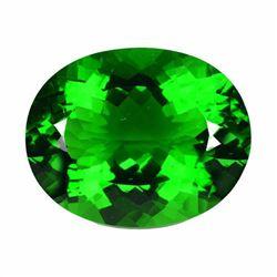 Natural Green Amethyst 34.05 Carats VVS
