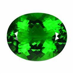 Natural Green Amethyst 32.71 Carats VVS