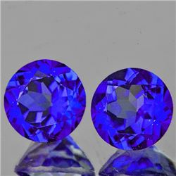 Natural Intense Purple Blue Mystic Topaz 6.00 MM  - FL