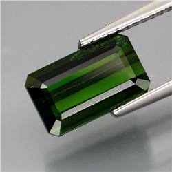 Natural Green Tourmaline 3.35 Carats