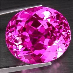 Natural hot Pink Topaz 20.56  carats - VVS