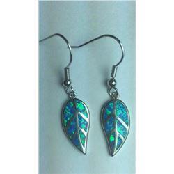 Full Fire Ethopian Opal Earrings