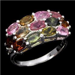 Natural Fancy Tourmaline Ring