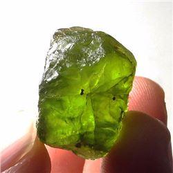 Natural Peridot Gemstone Rough 23.25 Carats