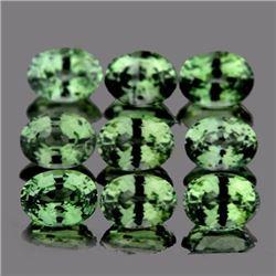 Natural AAA Ceylon Green Sapphires 3.02 Cts - FL