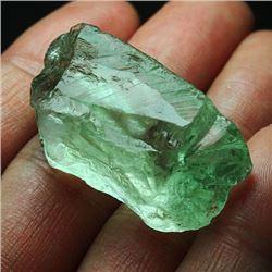 Natural Green Amethyst Rough 98 Carats