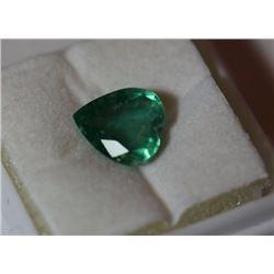 Natural Emerald Heart 2.45 Carats - no Treatment