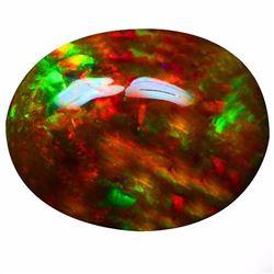 Natural Ethopian Black Opal 8.61 Carats