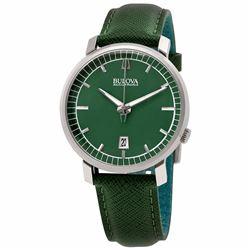Bulova Accutron Genuine Leather Watch