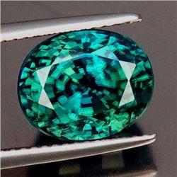Natural Combodian Green Zircon 9.39 carats - VVS