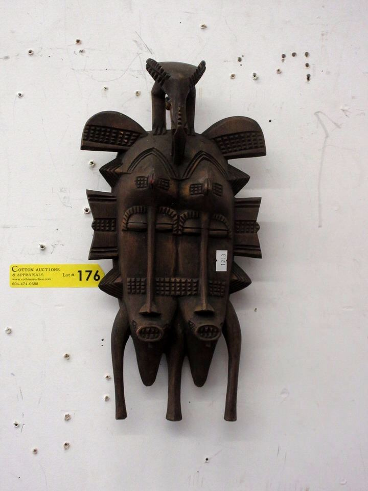 Carved African Wood Wall Art