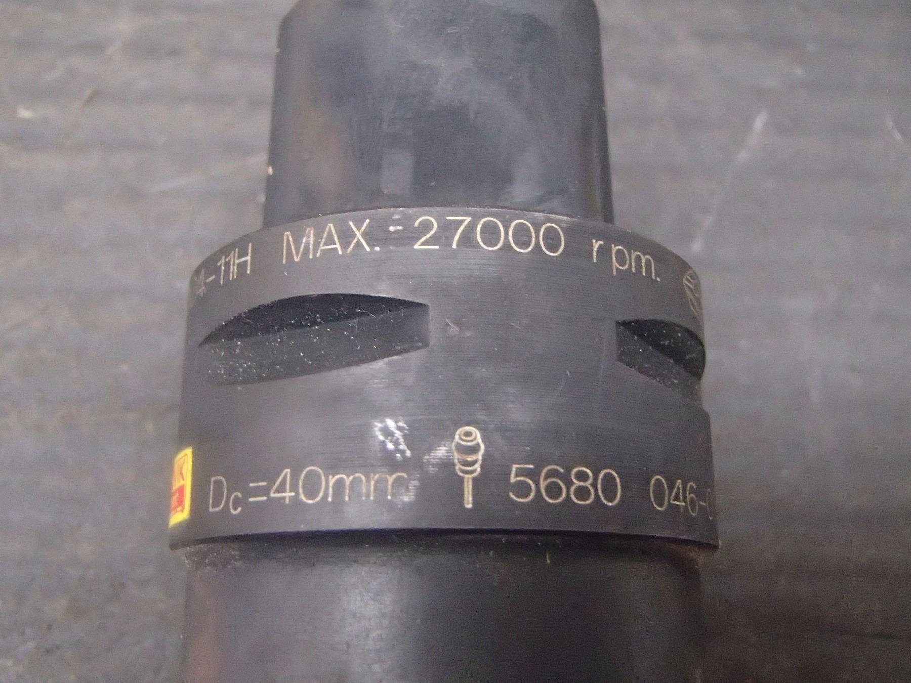 Sandvik C4 40mm Coolant Thru Indexable Mill, P/N: R390-040C4-11H