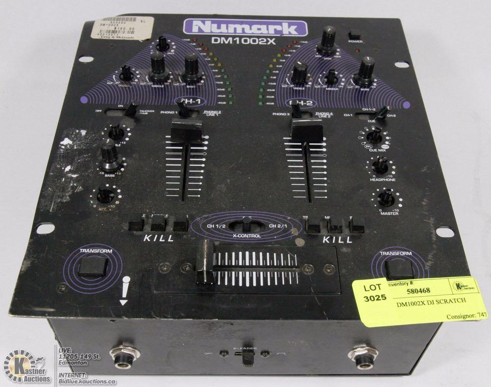 NUMARK DM1002X DJ SCRATCH MIXER
