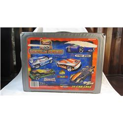 Hot Wheels Carrying Case with 39 Hot Wheels Cars