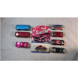 Lot of 8 HotWheels Cars Collectors
