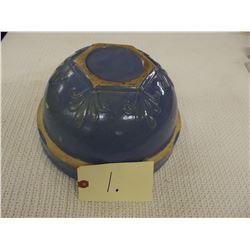 Antique Blue Crock Bowl