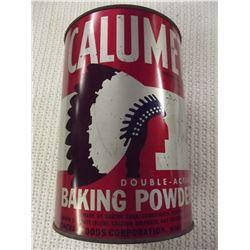 Calamet Baking Powder Tin