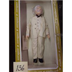 Vintage Effanbee Mark Twain Doll