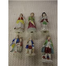 6 Pieces of Occupied Japan Collectables