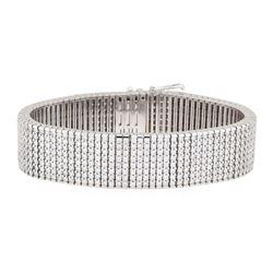 15.40 ctw Diamond Bracelet - 14KT White Gold