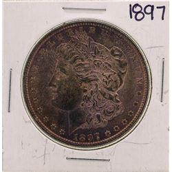 1897 $1 Morgan Silver Dollar Coin Nice Color