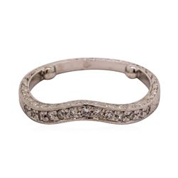 0.15 ctw Diamond Ring - Platinum