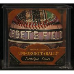 """Unforgettaball! """"Ebbets Field"""" Collectable Baseball"""
