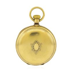 Antique New York Watch Co. Pocket Watch - 18KT Yellow Gold