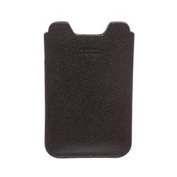 Bally Black Leather Accessory Case