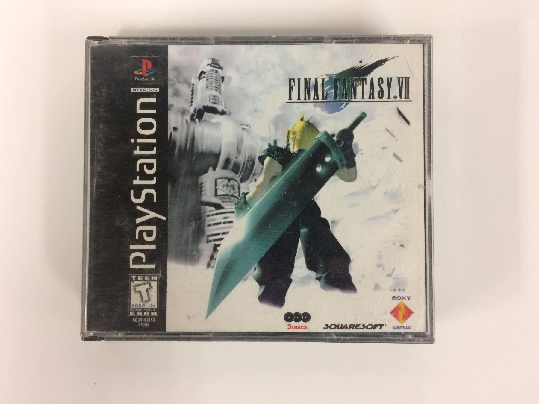 Final Fantasy VII (Sony PlayStation 1, 1997)