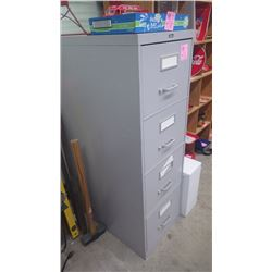 4 DOOR METAL FILE CABINET