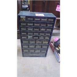 PARTS ORGANIZERS WITH PARTS 28 DRAWER