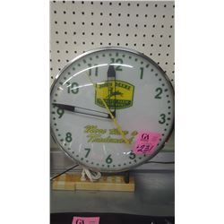 JD LIGHTED WALL CLOCK