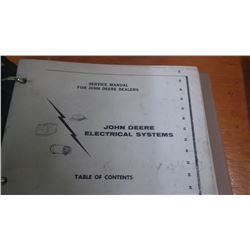 JD SERVICE MANUAL FOR ELECTRICAL SYSTEMS